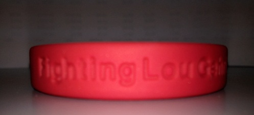 ALS Fighting Lou Gehrig's Disease Bracelet